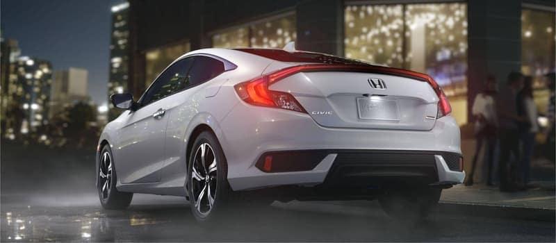 2018 Honda Civic Coupe rear view