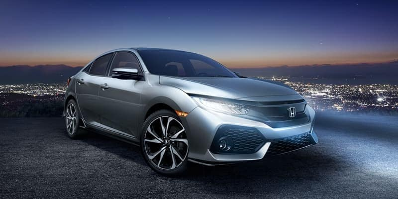 2018 Honda Civic Hatchback exterior