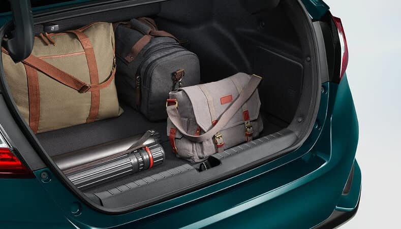2018 clarity phev cargo trunk