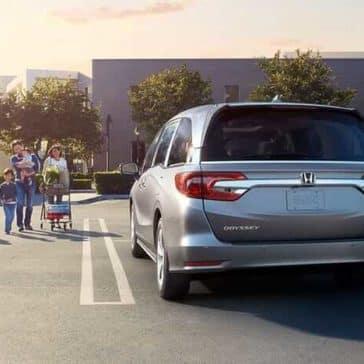 2019 Honda Odyssey rear view exterior