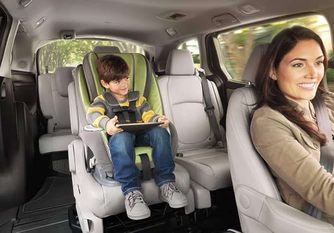 2019 Honda Odyssey interior seats