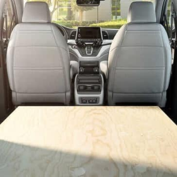 2019 Honda Odyssey cargo space