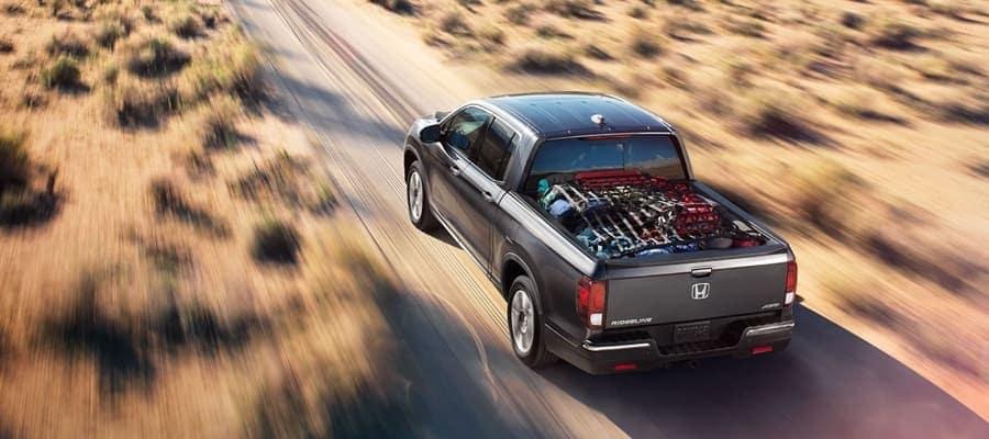 2019 Honda Ridgeline rear view