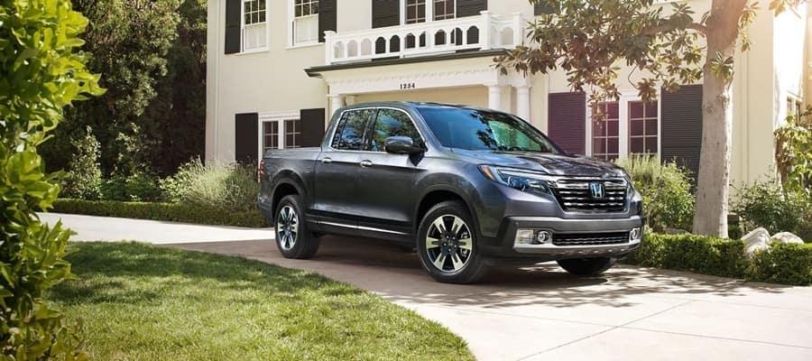 2019 Honda Ridgeline parked on drivesy