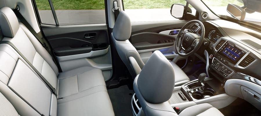 2019 Honda Ridgeline seating
