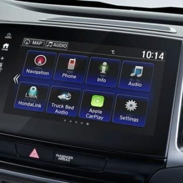 2019 Honda Ridgeline technology features