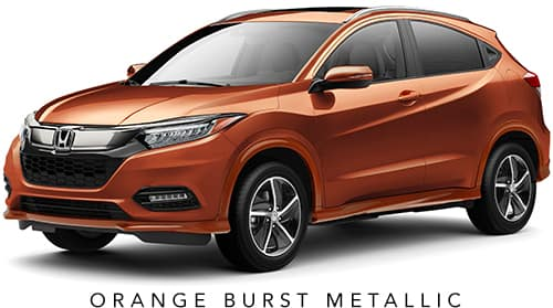 Orange Burst Metallic 2019 Honda HR-V