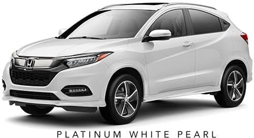Platinum White Pearl 2019 Honda HR-V