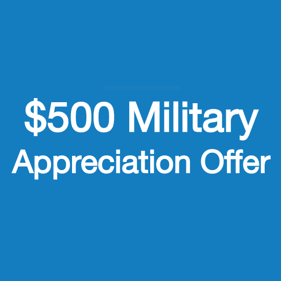 $500 Honda Military Appreciation Offer