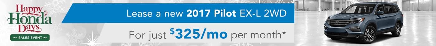 2017 Pilot EX-L