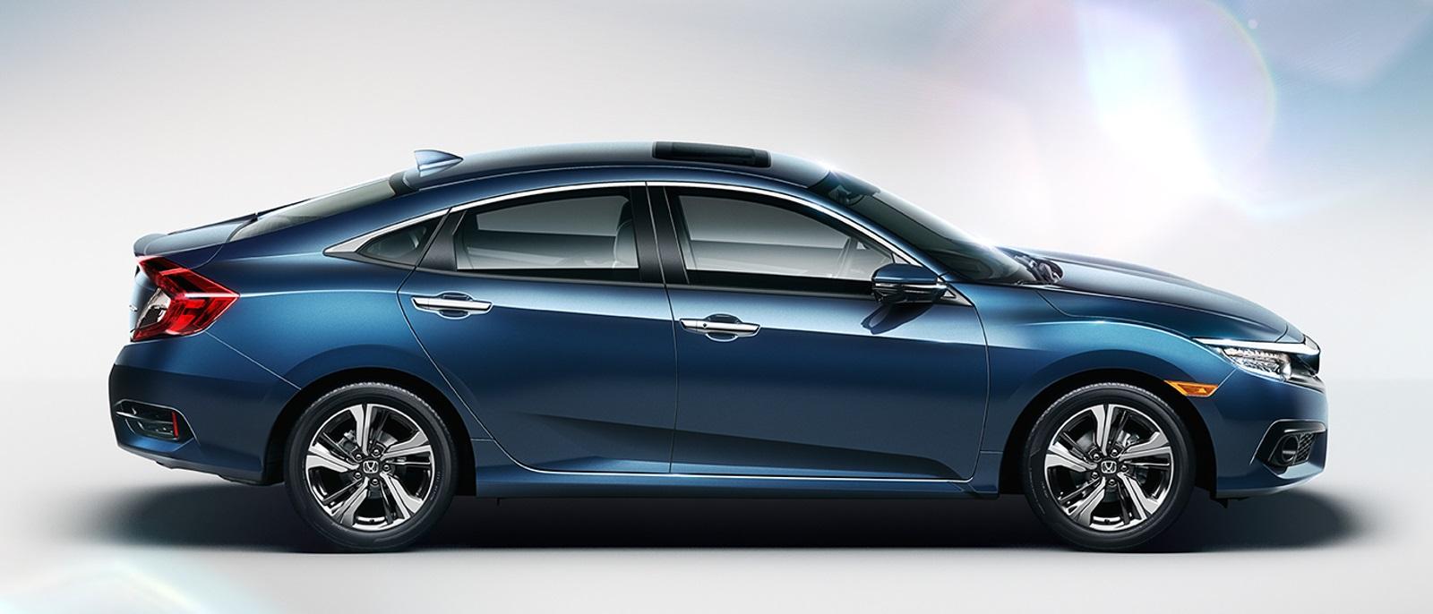 2016 Honda Civic Full Side View