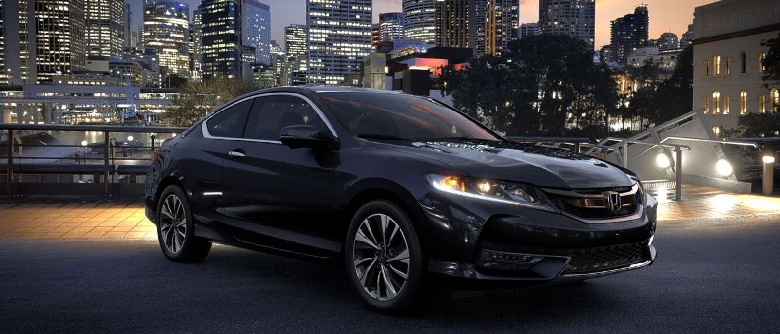 2016 Honda Accord Coupe in the city