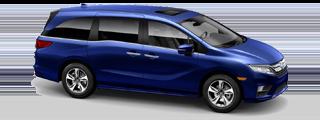2019 Honda Odyssey Touring shown