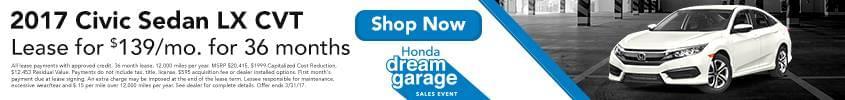 RIchards Honda - Dream Garage Event 2017 - Civic