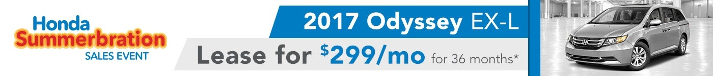 July Odyssey Offer 2017