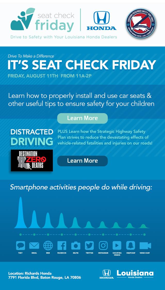 Seat Check Friday