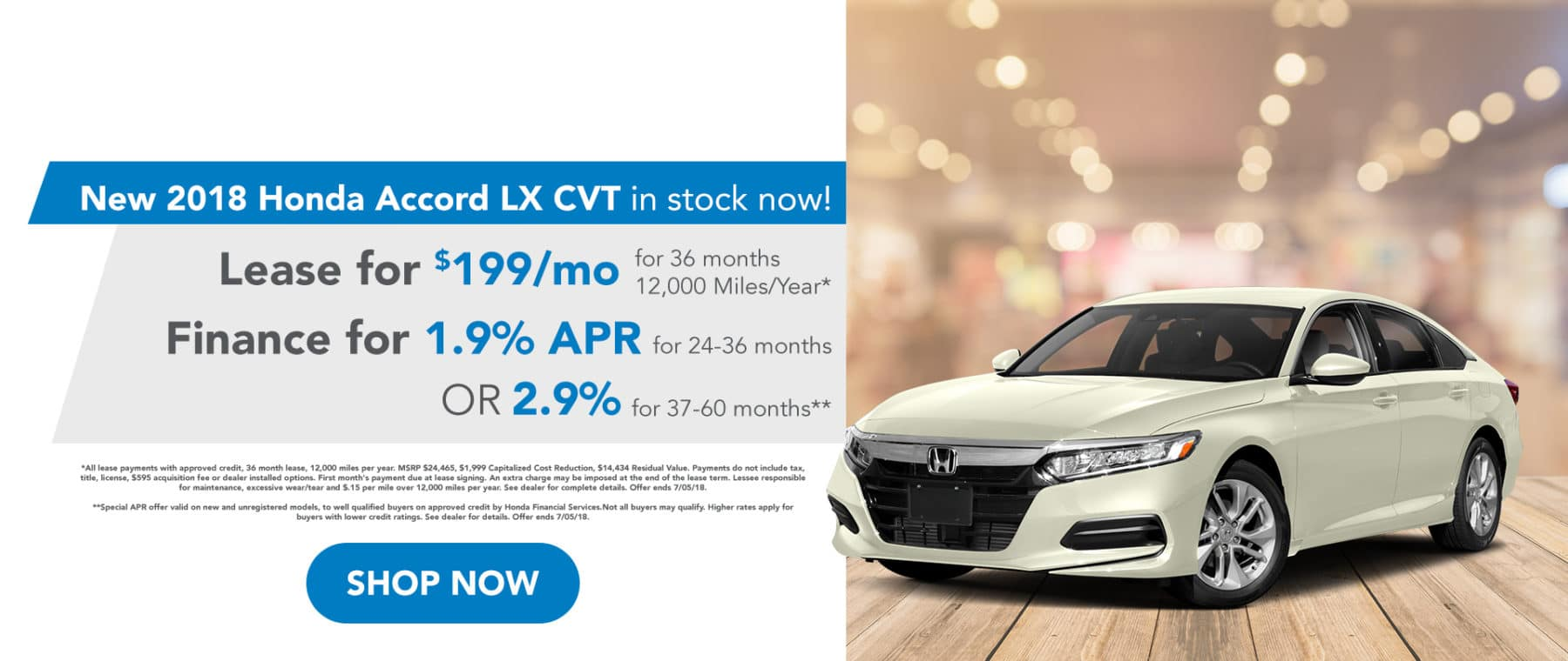 June Special Offer Accord