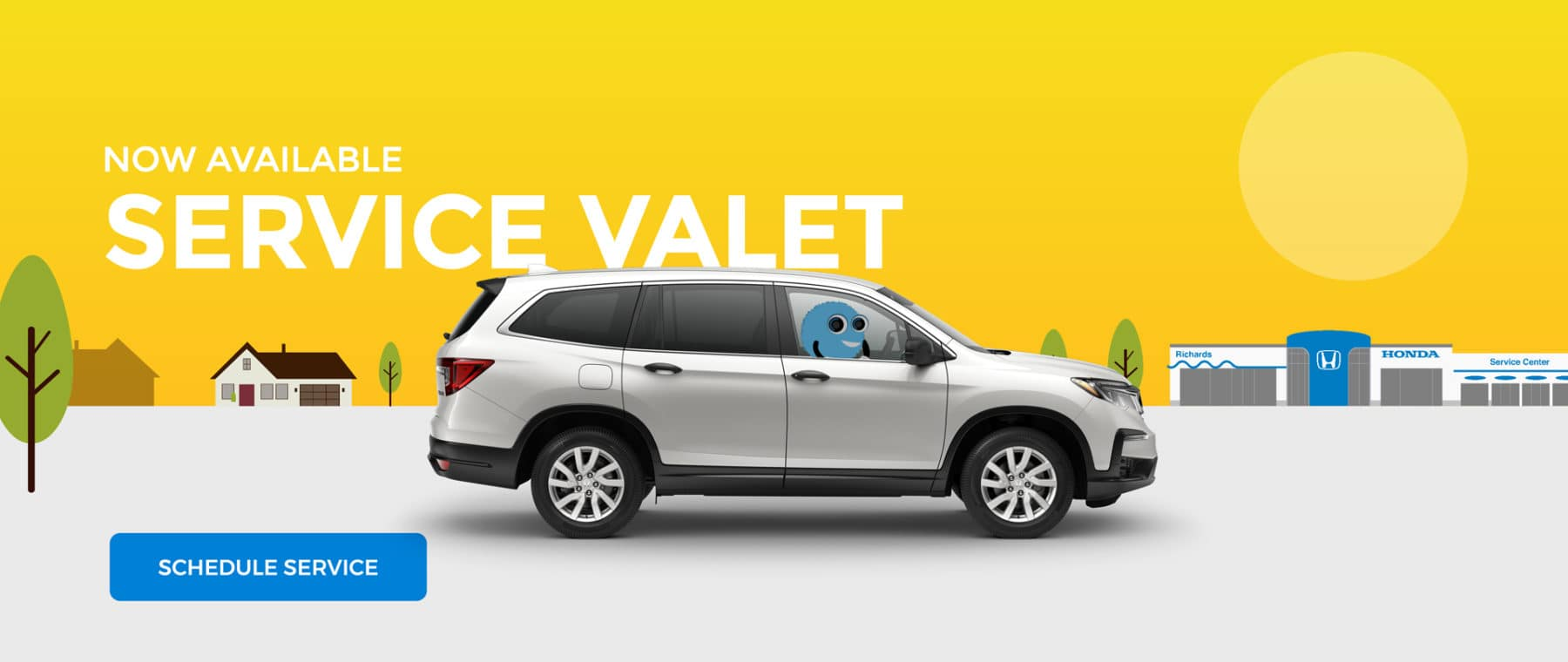 Service Valet is now available.