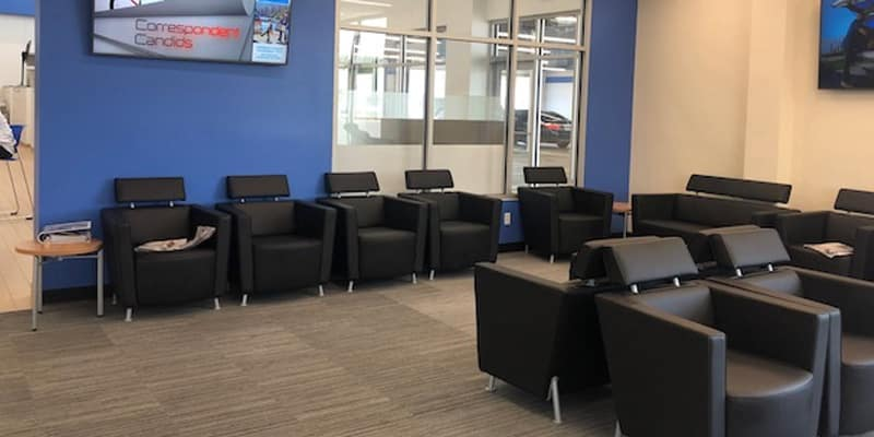 Richards Honda Waiting Area