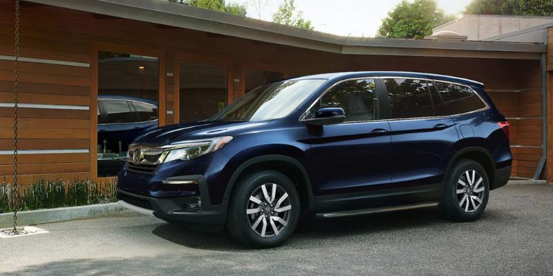 New 2022 Honda Pilot EX-L 2WD
