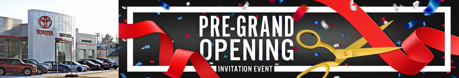 Check out our Pre-Grand Opening Invitation Event for our new building in Rocky Mount NC