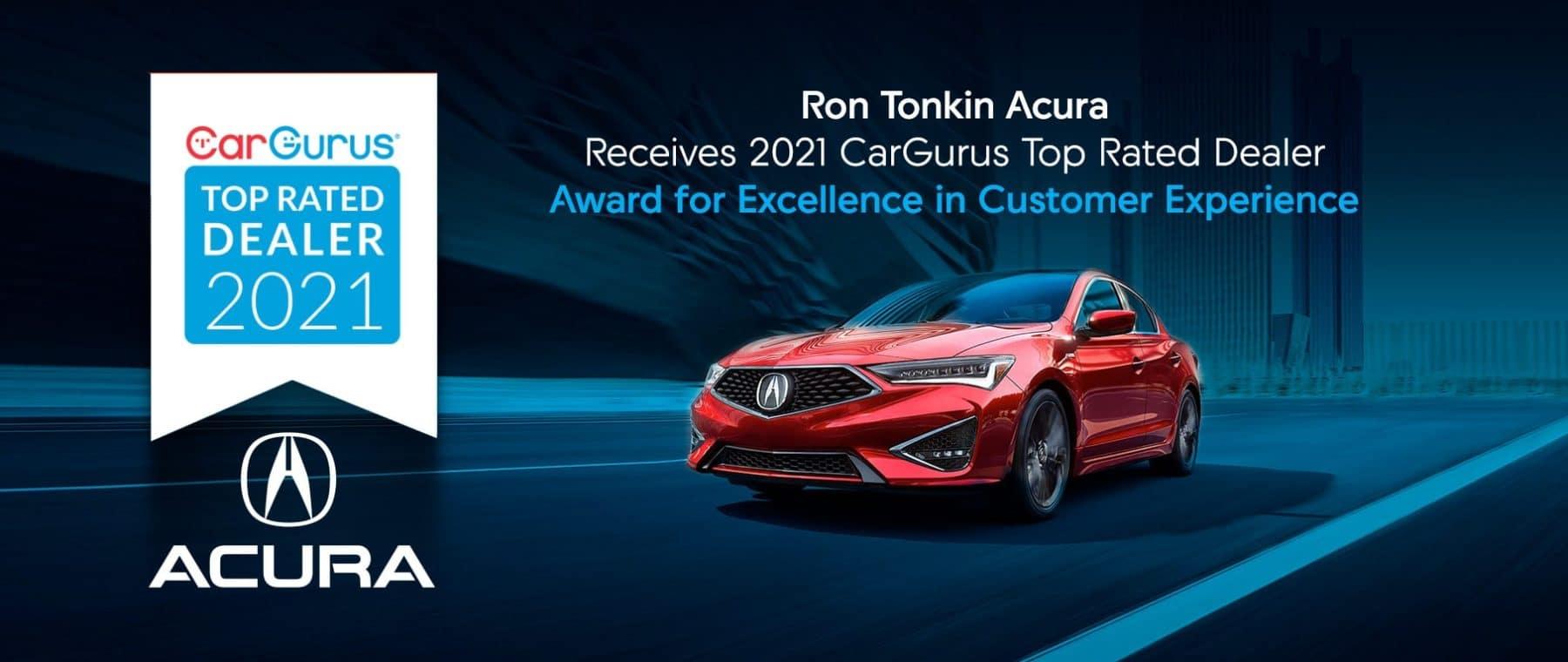 Ron Tonkin Acura Cargurus award
