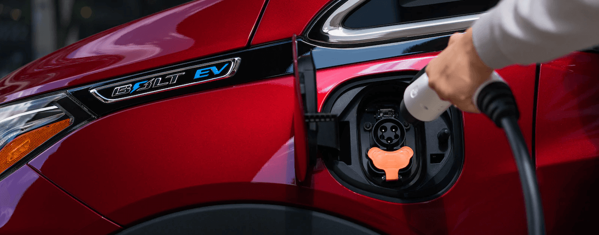 2021 Chevy Bolt EV Charging Banner