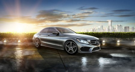 Pre-Owned (Courtesy):  2017 Mercedes-Benz C 300 4MATIC® Sedan