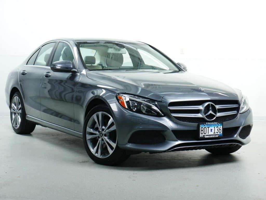 Pre-Owned: 2018 Mercedes-Benz C 300 4MATIC® Sedan