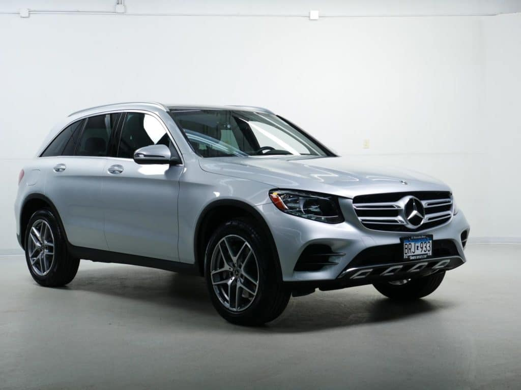 Courtesy Vehicle Lease: 2019 Mercedes-Benz GLC 300 4MATIC® SUV