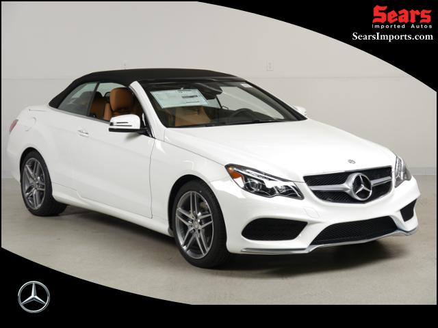Pre-Owned (Courtesy): 2016 Mercedes-Benz E 400 Convertible