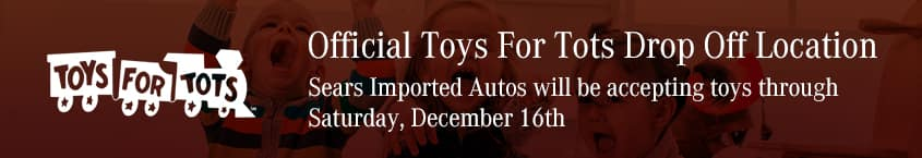 Toys for Tots Sears Imported Autos