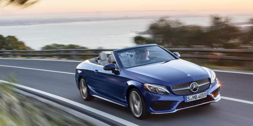 2018 C 300 4MATIC® Convertible