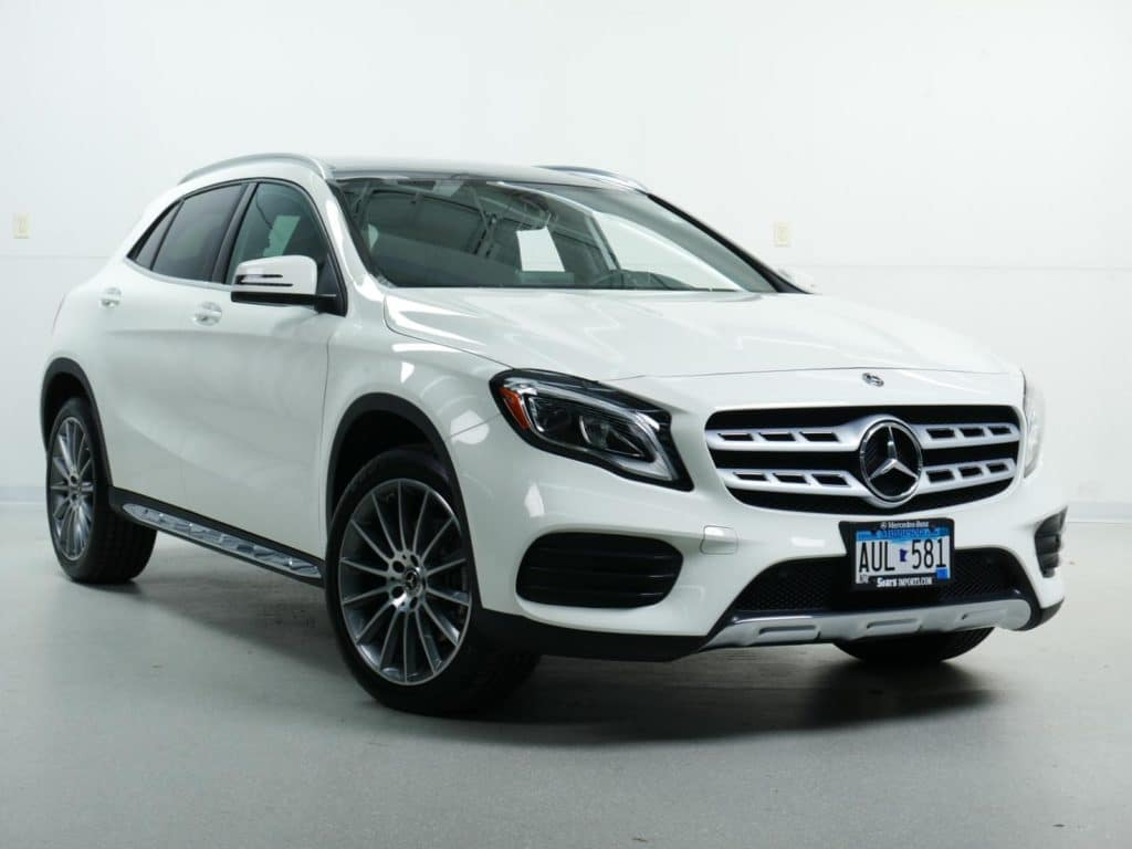 Pre-Owned: 2018 Mercedes-Benz GLA 250 4MATIC® SUV