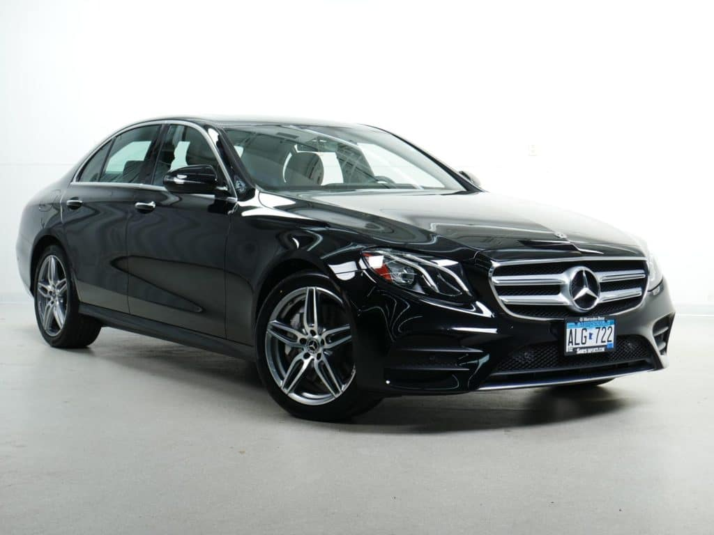 Pre-Owned:  2018 Mercedes-Benz E 300 4MATIC® Sport Sedan