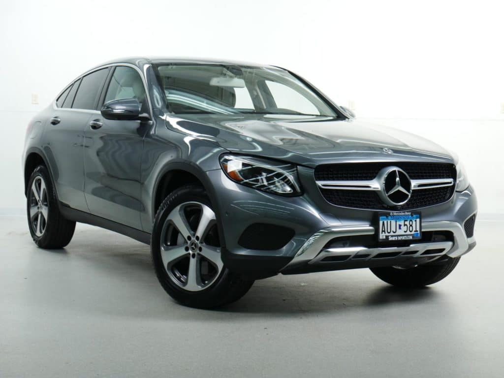 Pre-Owned:  2018 Mercedes-Benz GLC 300 4MATIC® COUPE