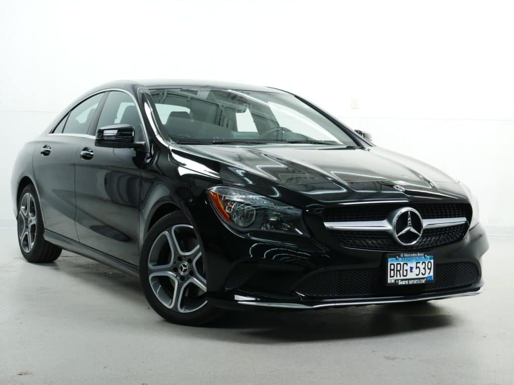 Pre-Owned: 2018 Mercedes-Benz CLA 250 4MATIC® Coupe