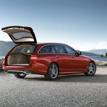 2019 Mercedes-Benz E-Class rear open