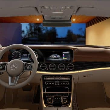 2019 Mercedes-Benz E-Class dashboard