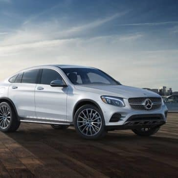2019 Mercedes-Benz GLC under cloudy sky