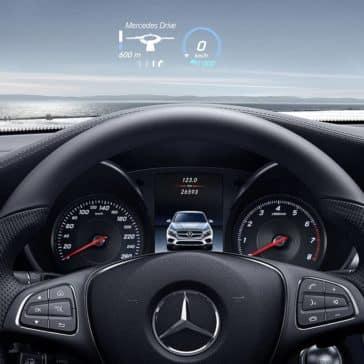 2019 Mercedes-Benz GLC steering wheel