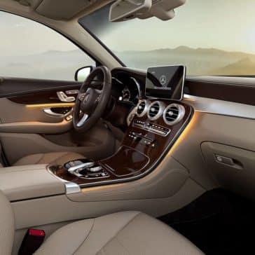 2019 Mercedes-Benz GLC front seatin
