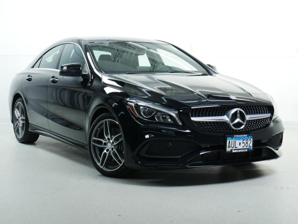 Courtesy Vehicle Offer: 2018 Mercedes-Benz CLA 250 4MATIC® Coupe