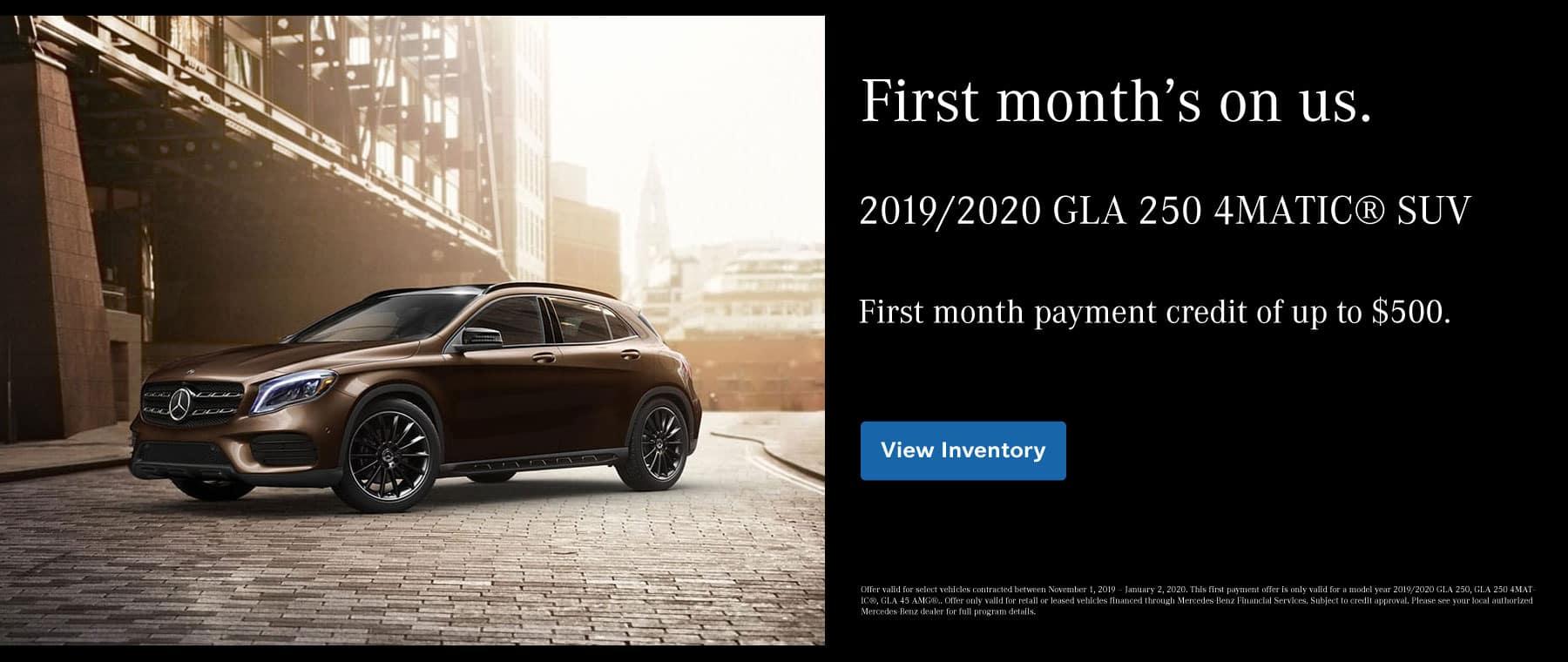 GLA Credit Payment