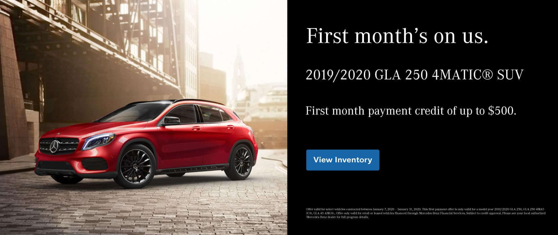 GLA Payment Credit