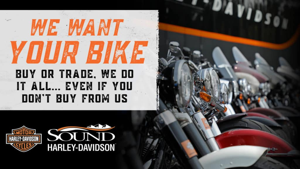 We Want Your Bike!