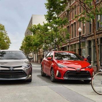 2017 Toyota Corolla Pair