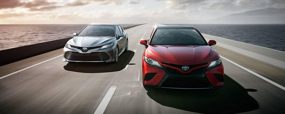2018 Toyota Camry and Camry Hybrid