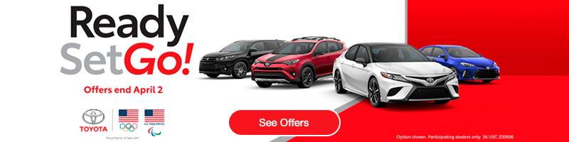 Toyota Sales Event - Ready Set Go!