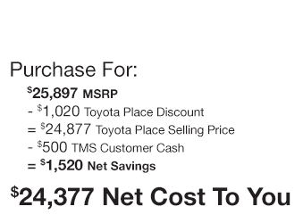 Toyota Prius Purchase Offer